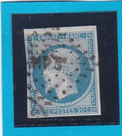 N° 14A   AMBULANT DE FRANCE  - HP3 ° -  REF 14615 - 1853-1860 Napoléon III