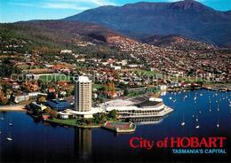73572005 Hobart_Tasmania Fliegeraufnahme Hobart Tasmania - Australien