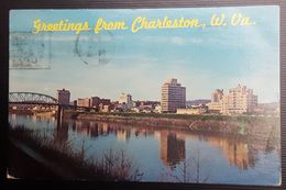 United States - Greetings From Charleston, West Virginia - Charleston