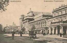 Warszawa - Krakowskie Przedmiescie - Pologne