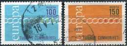 Turkey 1971 - Mi. 2210-11, Europa CEPT - 1921-... République