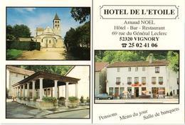 52 - VIGNORY - HÔTEL DE L'ÉTOILE - Vignory