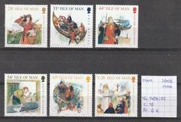 Man 2008 - Yv. 1450/55 Postfris/neuf/MNH - Isle Of Man