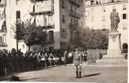 CORSE C.1930-40 ? CORTE - LA REVUE DU 173e ? Régiment D'Infanterie  - Carte Photo - Régiments