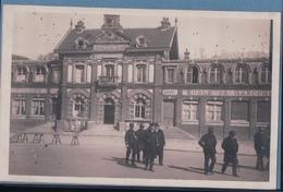 CARTE PHOTO PAVILLY Mairie  Ecole (1905) - Pavilly