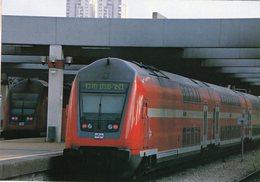 Railcar Of Israel Railways (IR) In Tel-Aviv In 2007  -  CPM - Trains