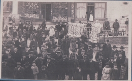 CARTE PHOTO NEUFCHATEL En BRAY Rassemblement (1905) - Neufchâtel En Bray