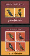 Nevis 2013 Hummingbirds Sheetlet + Block - Kolibries