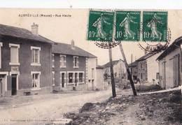 CPA / Aubréville (55)   Rue Haute  Le Bureau  De Tabac  Ed Clément - France