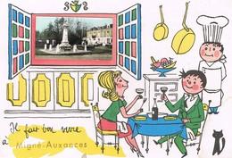 """MIGNE-AUXANCES (Vienne) - """" Il Fait Bon Vivre à Migné-Auxances """" - Humoristique - Other Municipalities"""
