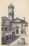 POGGIBONSI-SIENA-PIAZZA CAVOUR E COLLEGIATA-CARTOLINA NON VIAGGIATA-ANNO 1925-1935 - Siena