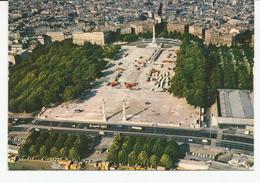 CP BORDEAUX Vue Aérienne Esplanade Des Quinconces - Bordeaux
