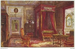 GBP43002 GB England Warwickshire - Warwick Castle - Queen Ann's Bedroom - Art - Vintage Postcard - Peintures & Tableaux