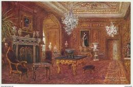 GBP43004 GB England Warwickshire - Warwick Castle - The Cedar Drawing Room - Art- Vintage Postcard - Peintures & Tableaux