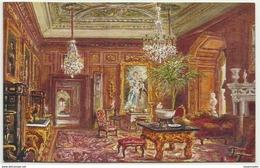 GBP43005 GB England Warwickshire - Warwick Castle - The Cedar Drawing Room - Art- Vintage Postcard - Peintures & Tableaux