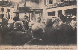 57 - VIC - VISITE IMPERIALE DE GUILLAUME II LE 26.04.1910 - Vic Sur Seille
