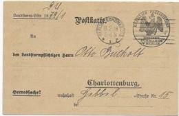 Feldpost 1. Weltkrieg - Heeressache - 1918 - Musterungsbefehl - Briefe U. Dokumente
