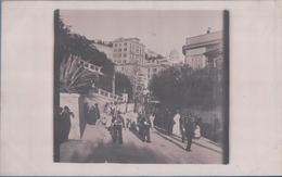 CARTE PHOTO MONACO Procession Hôtel Des Princes (1905) - La Condamine