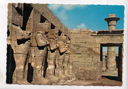 KARNAK, Ramses III Court In The Amon-Ra Temple, Unused Postcard [23876] - Egypt