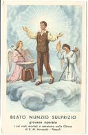 Lotto N. 3 Santini Beato Nunzio Sulprizio, S. Pietro Claver, Don Placido Baccher Storia E Preghiere (99-101) - Images Religieuses