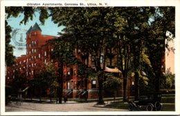 New York Utica Olbiston Apartments On Genesee Street - Utica