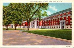 New York Utica Masonic Home Vrooman Building Curteich - Utica