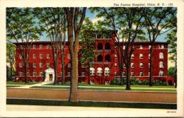 New York Utica The Faxton Hospital Curteich - Utica