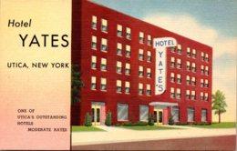 New York Utica Hotel Yates Curteich - Utica