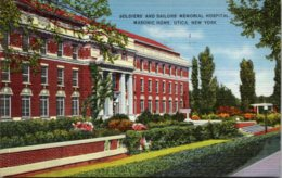 New York Utica Masonic Home Soldiers And Sailors Memorial Hospital 1939 - Utica
