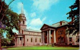 New York Utica First Prebyterian Church And Church House - Utica