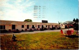 New York Utica Davis Motel 1957 - Utica