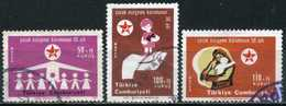Turkey 1971 - Mi. 2226-28 O, 50th Ann.of The Society For Protection Of Children - 1921-... République
