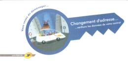 """Grande CPM """"Vous Venez De Déménager... Changement D'adresse... Vérifions Les Données De Votre Contrat"""" La Poste 2006 TBE - Postal Services"""