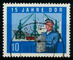DDR 1964 Nr 1059A Gestempelt X8EF4F6 - [6] République Démocratique