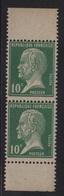 Type Pasteur - N°170 Paire De Carnet - ** Neufs Sans Charniere - 1922-26 Pasteur