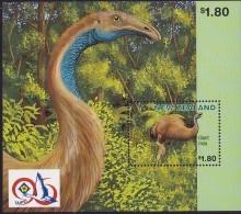 New Zealand 1996 Extinct Birds Sheet TaipeiSc 1398b Mint Never Hinged - New Zealand