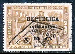 !■■■■■ds■■ Inhambane 1913 AF#70ø Vasco Da Gama On Timor 15 (x10436) - Inhambane