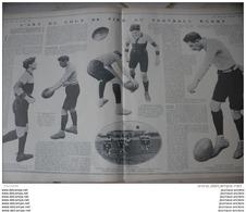 1906 L'ART DU COUP DE PIED AU RUGBY -  BOXE DERNIER ASSAUT DE SULLIVAN - BOXE EN AMERIQUE - CERCLE HOCHE - LUTTE - Journaux - Quotidiens