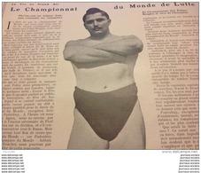 1906  LUTTE RAOUL LE BOUCHER - RIGBY  L'ART DU COUP DE PIED  - BOXE EN AMERIQUE  - ESCRIME CERCLE HOCHE - Journaux - Quotidiens