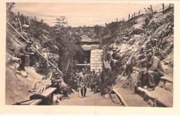 MILITARIA (1914-18) CHIRY : Eine Der Grossen Steinhöhlen Bei Ville In Der Nähe Von Chiry - CPA - - War 1914-18