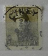 Roi Casqué COB 166 Belle Oblitération Ciney - 1919-1920 Trench Helmet