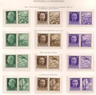 REGNO D'ITALIA  1942   PROPAGANDA DI GUERRA   SASS. 1-12 MLH VF - 1900-44 Vittorio Emanuele III