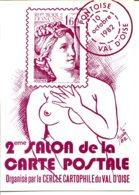 Illustration Etienne QUENTIN - Pontoise, Salon 1982, Dédicace Au Dos - Borse E Saloni Del Collezionismo