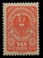 ÖSTERREICH 1919 Nr 260y Postfrisch X7A866E - Ungebraucht