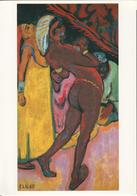 KIRCHNER: Danseuse Noire [ Nu Femme Nude CPM Allemande ] FI005 - Schilderijen