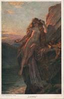 GEBHARDT: Loreley [ Nu Femme Nude CPA Allemande ] FI006 - Schilderijen