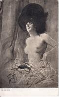 ZMURKO: Femme Au Chapeau  [ Nu Femme Nude CPSM Polonaise ] FI009 - Schilderijen