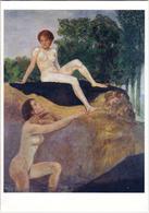 KLINGER: Baigneuses [ Nu Femme Nude CPM Allemande ] FI016 - Schilderijen