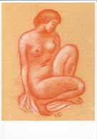 MAILLOL: Jeune Fille Accroupie [ Nu Femme Nude CPM ] FI017 - Schilderijen