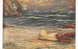"""ILLUSTRATEUR - L. RIDEL - """"L'EPAVE"""" - NU FEMININ - SALON DE PARIS - Autres Illustrateurs"""